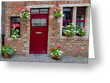 Door And Windows Greeting Card