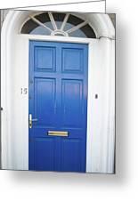 Door In Ireland 4 Greeting Card