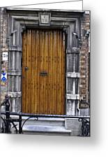 Door Number 59 Greeting Card