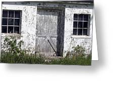 Door To Barn Greeting Card