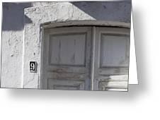 Doors Number 9 Greeting Card