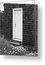 Doorway By The Sea Cape Cod National Seashore Greeting Card by Michelle Wiarda