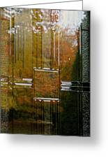 Doorway To Autumn Greeting Card