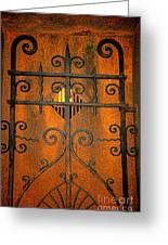 Doorway To Death Greeting Card by Paul Ward