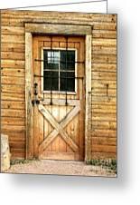Doorway To Yesterday Greeting Card