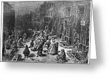 Dor�: London, 1872 Greeting Card
