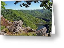 Dordogne Valley Greeting Card