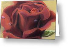 Doris's Rose Greeting Card