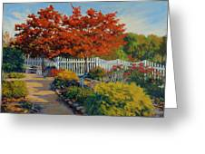 Dotti's Garden Autumn Greeting Card