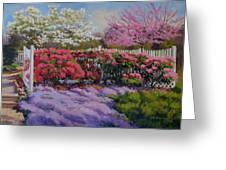 Dotti's Garden Spring Greeting Card