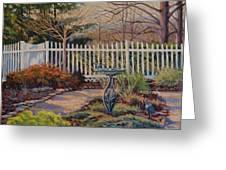 Dotti's Garden Winter Greeting Card