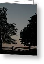 Doughton Park On The Blue Ridge Parkway Greeting Card