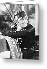 Douglas Fairbanks Greeting Card