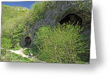 Dove Holes - Dovedale Greeting Card