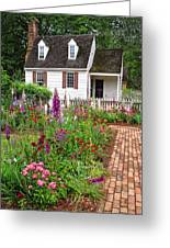 Down A Garden Path Greeting Card