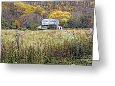 Down In A West Va Valley Greeting Card