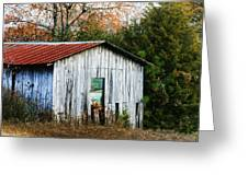 Down On The Farm - Old Shed Greeting Card
