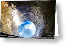 Down The Hole Greeting Card