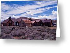 Downtown  Bodie Greeting Card