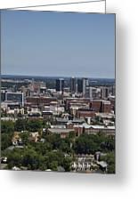 Downtown Birmingham Alabama Greeting Card