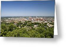 Downtown Birmingham Alabama On A Clear Day Greeting Card