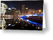 Downtown Boston Greeting Card