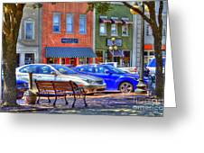 Downtown Georgetown Greeting Card