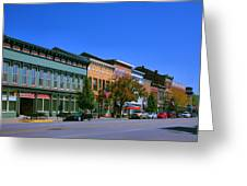 Downtown Madison I Greeting Card