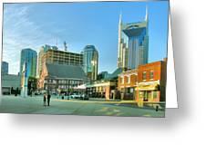 Downtown Nashville IIi Greeting Card