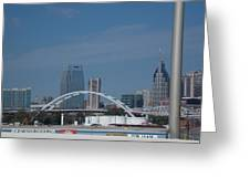 Downtown Nashville Greeting Card