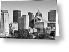 Downtown Okc Greeting Card