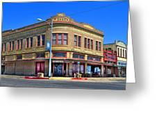 Downtown Shiner Texas Greeting Card