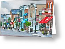 Downtown Waterville Greeting Card
