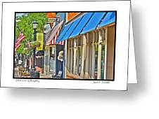 Downtown Willoughby Greeting Card