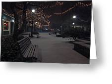 Downtown Winter Greeting Card