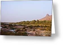 Draa River Greeting Card