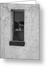 Drab In Black And White Greeting Card
