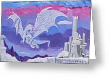 Dragon Castle Greeting Card