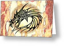 Dragon Fire Greeting Card