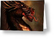 Dragon Portrait Greeting Card