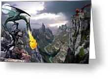 Dragon Valley Greeting Card