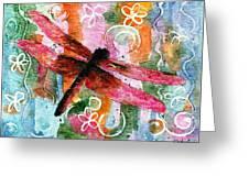 Dragonfly Fairy I Greeting Card