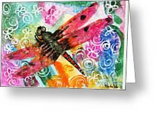 Dragonfly Fairy II Greeting Card