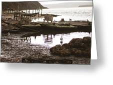 Drakes Bay Oyster Farm Greeting Card