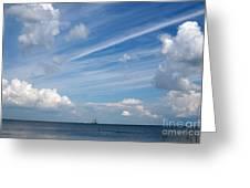 Drama In The Sky Greeting Card