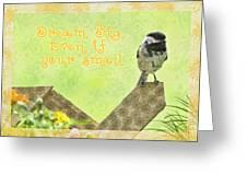 Dream Big Greeting Card