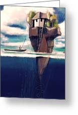 Dream Island Greeting Card