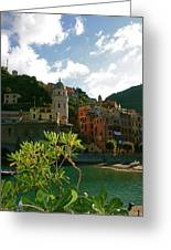 Dream Of Vernazza Greeting Card