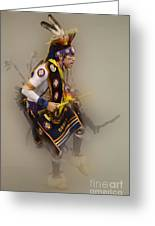Pow Wow Dream Time Greeting Card