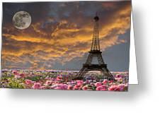 Dreaming Of Paris Greeting Card